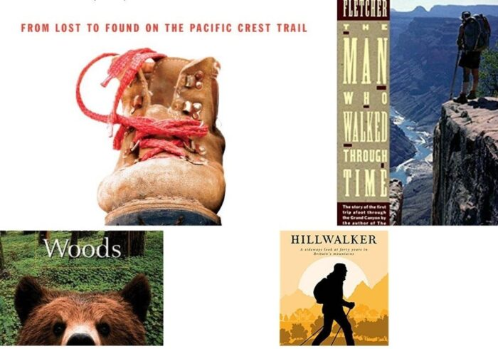 some of the best books about hiking