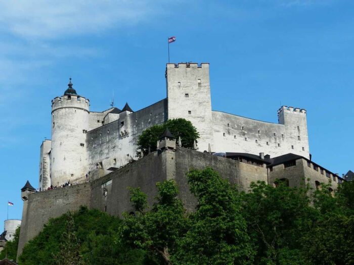 things to do in Salzburg - castle