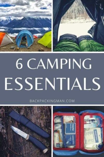 camping essentials to take with you camping