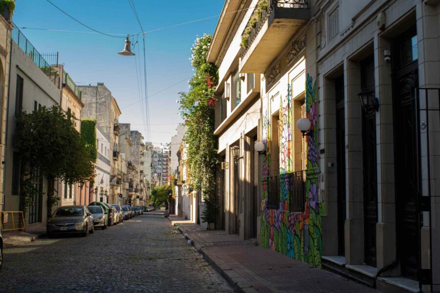 Street in Buenos Aires