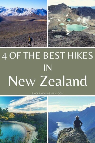 tramping in New Zealand hikes