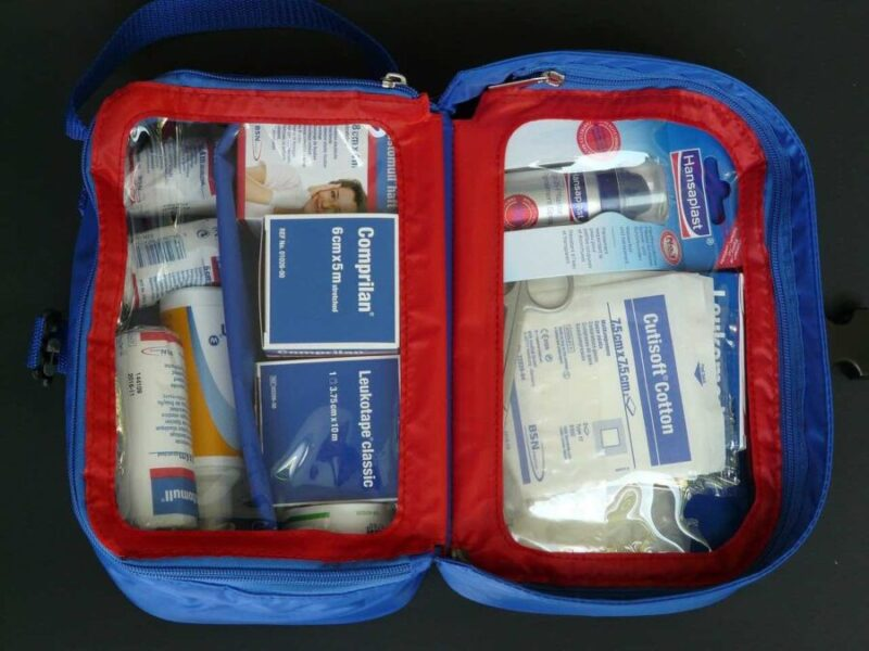 first aid kit for camping essentials