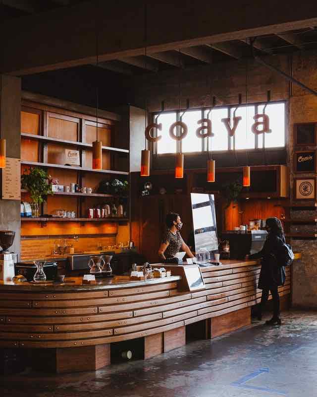 coffee shop in Portland Oregon