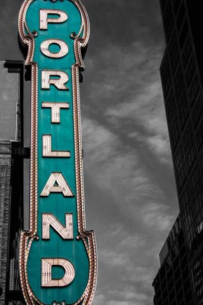 things to do in Portland Oregon - Portland sign