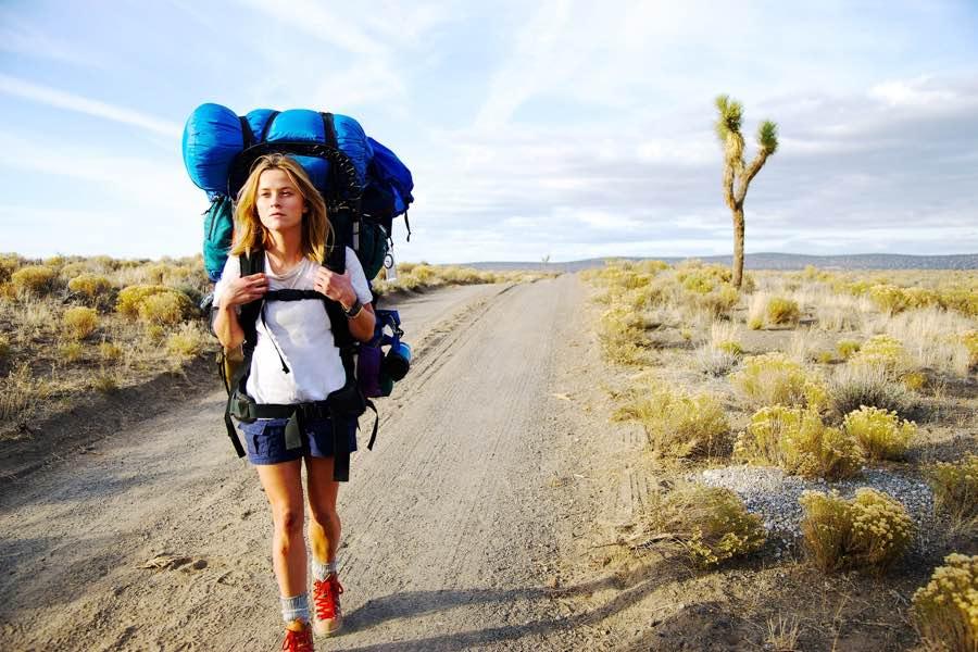 Cheryl Strayed backpacking