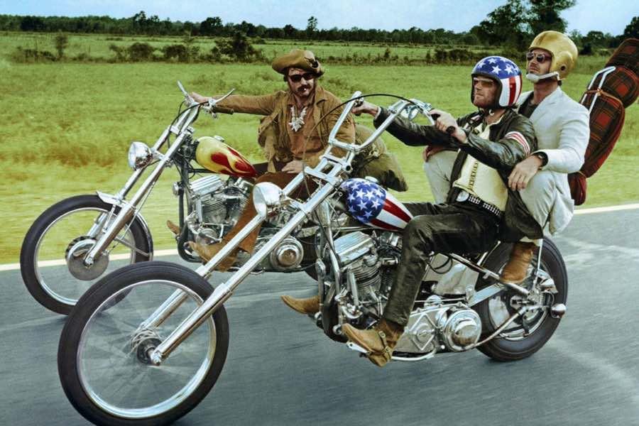 men riding mororbikes