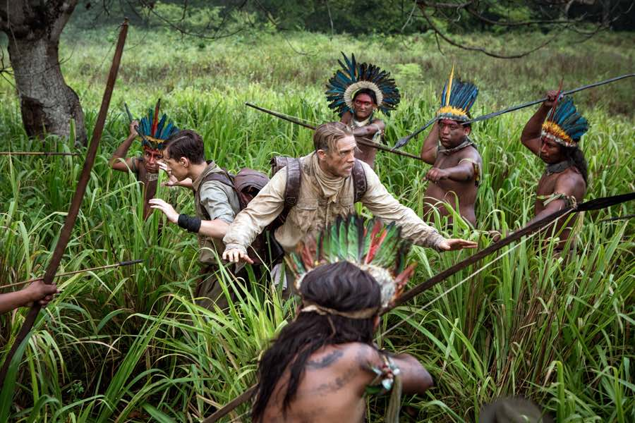 South America travel movies - lost city of z