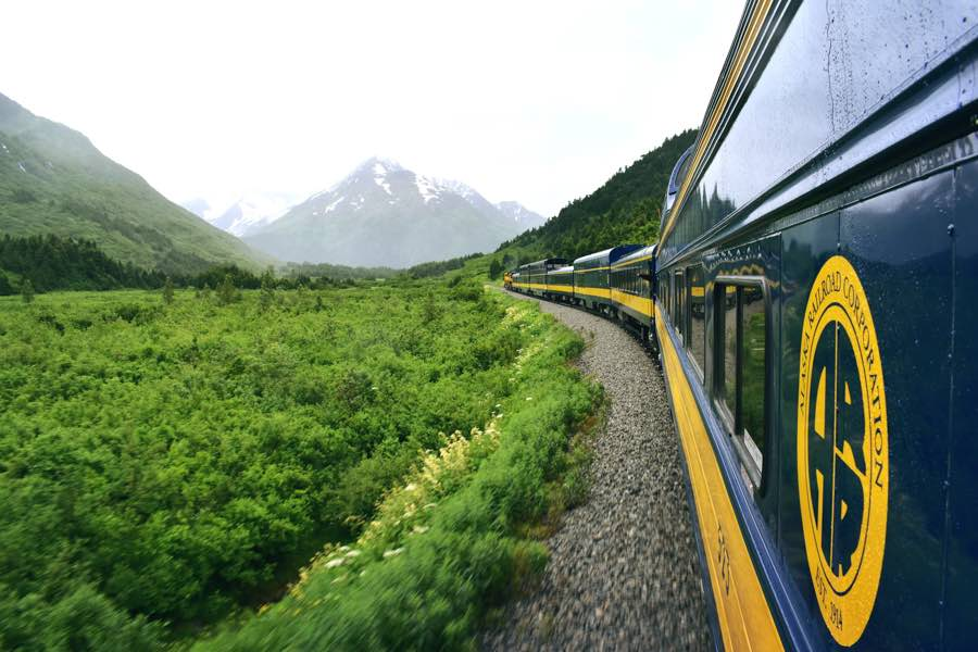 trains in Anchorage