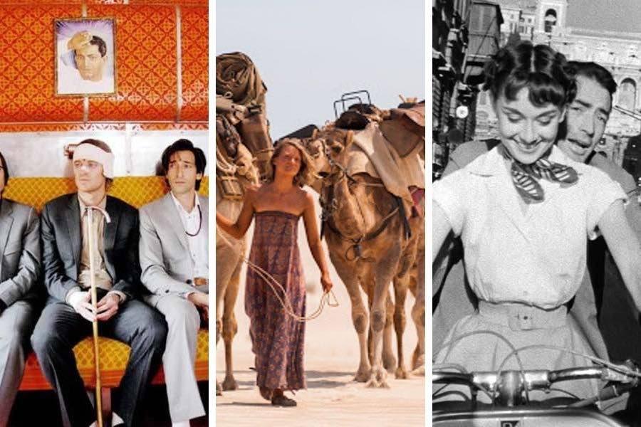 best travel movies photo collage