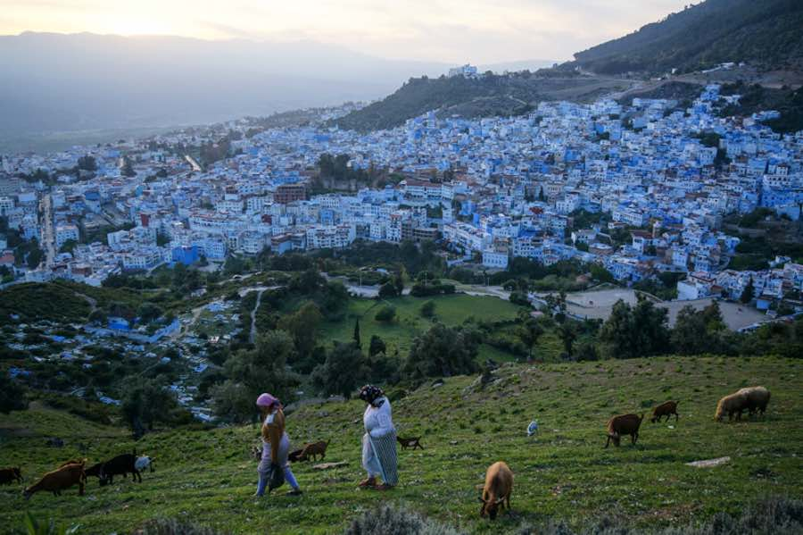 Cheapest countries to visit Morocco